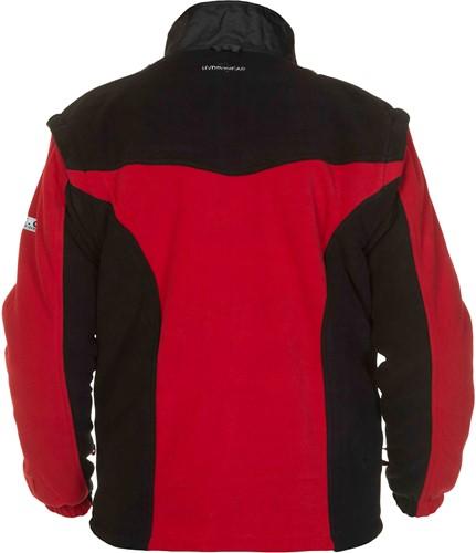 Hydrowear Keulen Fleece - Zwart/Rood