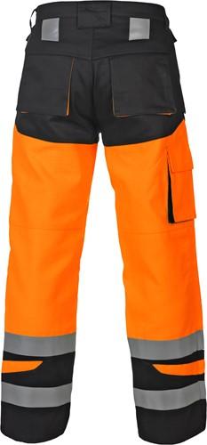 Hydrowear Malediven werkbroek - Oranje/Zwart-2
