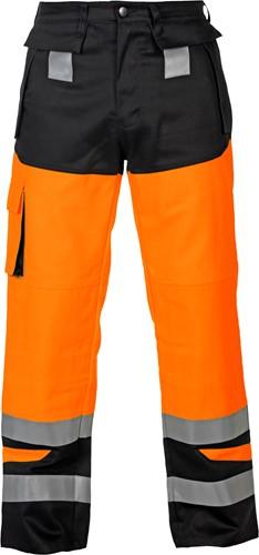 Hydrowear Malediven werkbroek - Oranje/Zwart-1