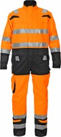 Hydrowear Magnor Coverall - Oranje/zwart-56