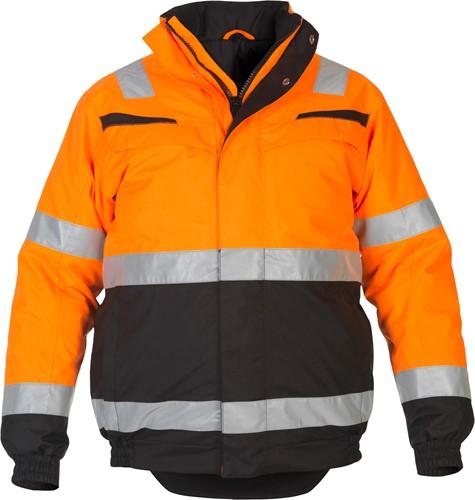 Hydrowear Morley winterjack - Oranje/Zwart-1