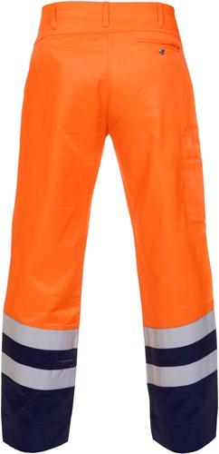 Hydrowear Hamm Zomer Werkbroek - Oranje/Navy-2