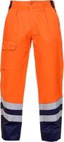 Hydrowear Hamm Zomer Werkbroek - Oranje/Navy