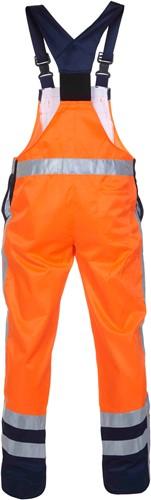 Hydrowear Hanoi Amerikaanse overall - Oranje/Navy-2