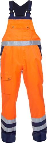 Hydrowear Hanoi Amerikaanse overall - Oranje/Navy-1