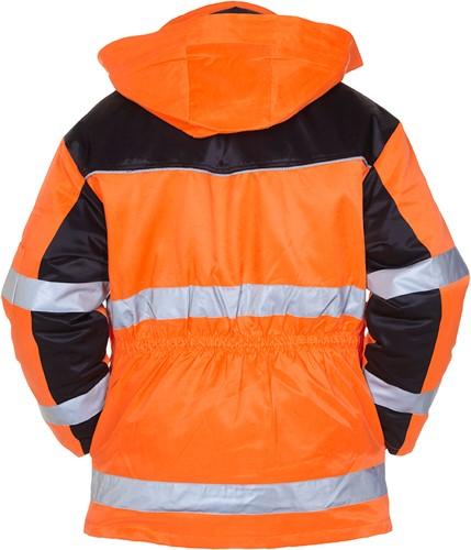 Hydrowear Heerlen Winterparka - Oranje/Zwart-2