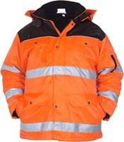 Hydrowear Heerlen Winterparka - Oranje/Zwart-1