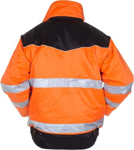 Hydrowear Halifax Winterjack - Oranje/Zwart-2