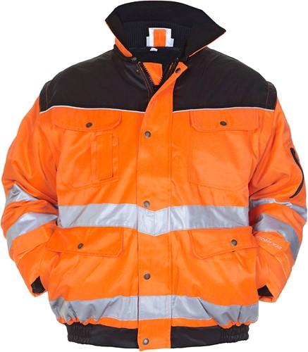 Hydrowear Halifax Winterjack - Oranje/Zwart-1