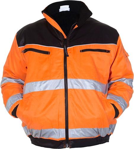 Hydrowear Helsinki Winterjack - Oranje/zwart