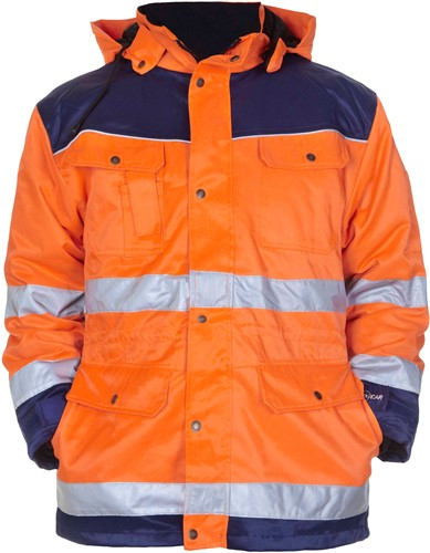 Hydrowear Liverpool Parka - Oranje/Navy