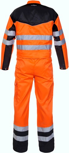 Hydrowear Hamilton Overall - Oranje/Zwart-2