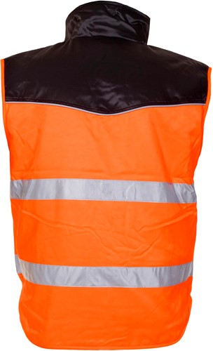 Hydrowear Hoorn Bodywarmer - Oranje/Zwart-2