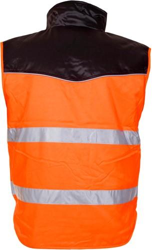 Hydrowear Hoorn Bodywarmer - Oranje/Zwart