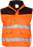 Hydrowear Hoorn Bodywarmer - Oranje/Zwart-1