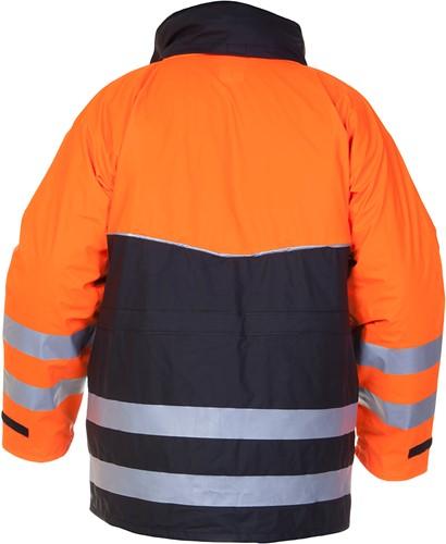 Hydrowear Nijkerk Parka - Oranje/Zwart-2
