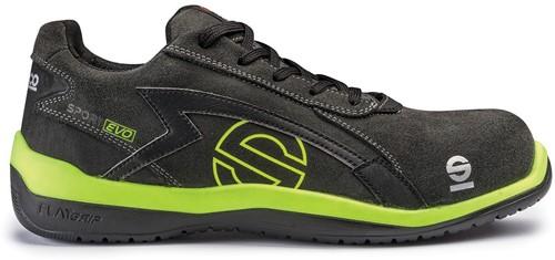 Sparco Sport Evo 07516.GRGF Veiligheidsschoen S1P - Zwart/Groen