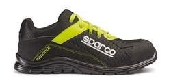 Sparco Practice 07517.NRGF Veiligheidsschoen S1P - Zwart/Groen