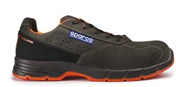 Sparco Challenge 07519.GSNR Veiligheidsschoen S1P - Donkergrijs/Rood/Oranje