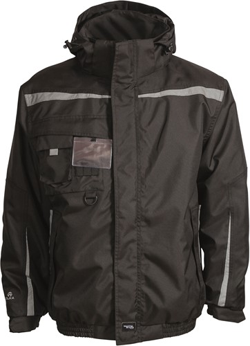 Elka Rain Pilot Winter Regenjas-Zwart-XS