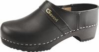 Gevavi - 900 Schoenklomp gesloten hiel -  zwart-24