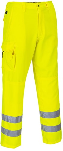 Portwest E046 Hi-Vis Combat Trousers