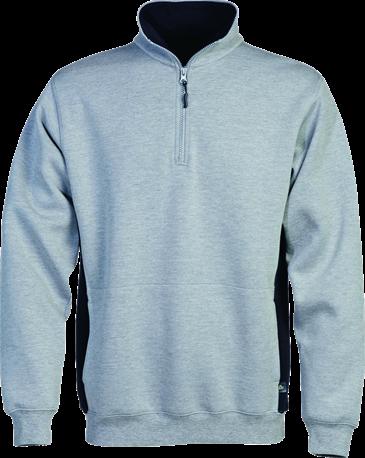 Acode Sweater met korte rits