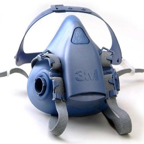 3M 7502 halfgelaatsmasker siliconen mt M
