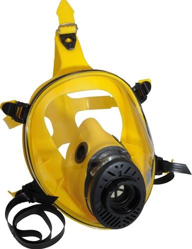 Spasciani TR 2002 CL3 Volgelaatsmasker Geel Silicoon