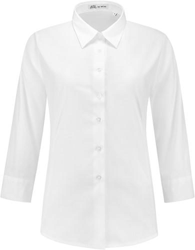Dames blouse Julie 3/4 mouw - Wit-1