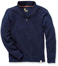 Carhartt Sweater Knit Quarter Zip-Navy-S-1