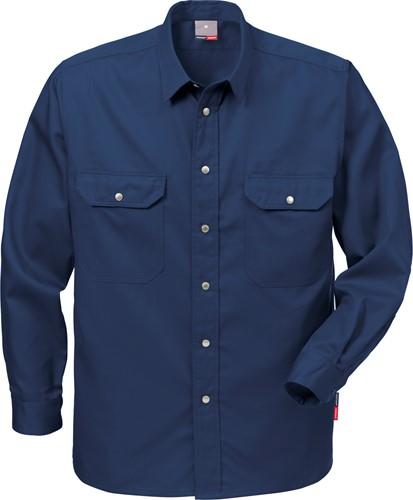 Fristads Overhemd 720 B60-XS-Donker marineblauw