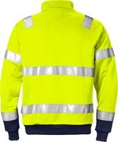 Fristads High vis sweatshirt met korte rits klasse 3 728 BPV