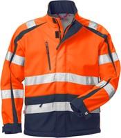 Fristads High vis WINDSTOPPER® jack klasse 3 744 GWG-XS-Hi-Vis oranje/marineblauw-1