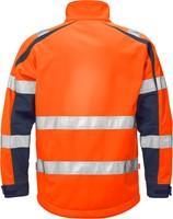 Fristads High vis WINDSTOPPER® jack klasse 3 744 GWG-XS-Hi-Vis oranje/marineblauw-2