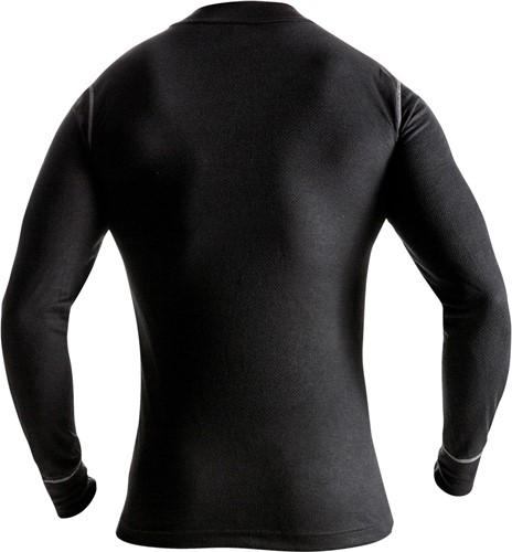 Fristads T-shirt lange mouwen met korte rits 789 OF