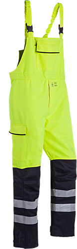 Sioen Pedley Signalisatie Regenbavetbroek met ARC bescherming (Kl 2)-S-Fluo Geel/Marine