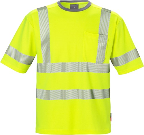 Fristads High vis T-shirt klasse 3 7407 TPS
