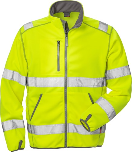 Fristads High vis softshelljack klasse 3 4840 SSL-1