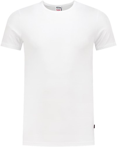 Tricorp 101013 T-Shirt Elastaan Slim Fit-Wit-XS