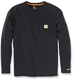 Carhartt Force Cotton Long Sleeve Henley shirt-1