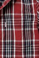 Carhartt Slim Fit Plaid Short Sleeve blouse-S-Donker Crimson-Donker Cobalt blauw-2
