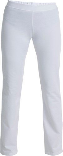Hejco Jill Dames sweatbroek-Wit-32/34