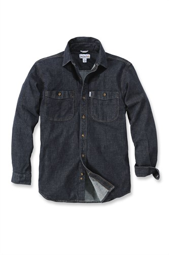 Carhartt L/S Rugged Flex patten Denim blouse