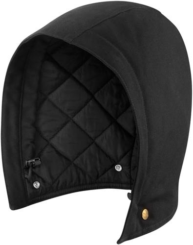 Carhartt Duck Hood Polyester Quilted-Zwart-S-XL