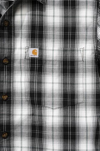 Carhartt Slim Fit Plaid Shirt S/S-2