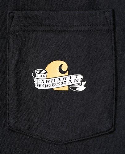 Carhartt Maddock Woodsman Graphic LS T-Shirt