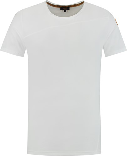 Tricorp 104002 T-Shirt Premium Naden Heren -XS-Helder Wit