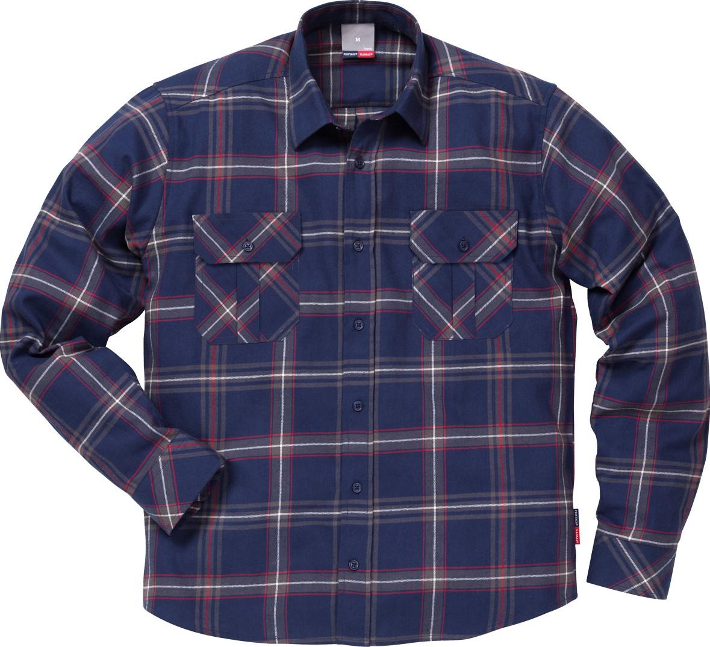 Flanellen Overhemd.Fristads Flanellen Overhemd 7421 Msf Workwear4all