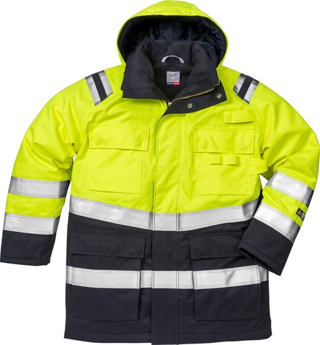 Fristads Flamestat high vis winterparka klasse 3 4086 ATHR